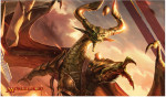 Игровой коврик (mtgtrade) Nicol Bolas, God-Pharaoh фото цена описание
