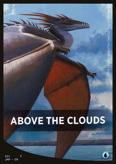 Above the Clouds Theme Card фото цена описание