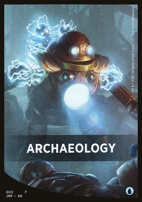Archaeology Theme Card фото цена описание